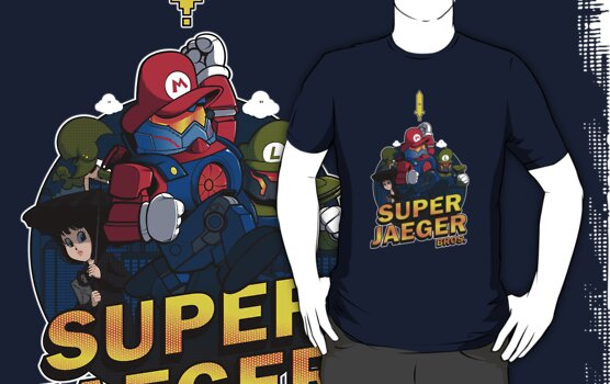 Super Jaeger Bros by Ian  Summers