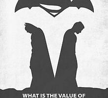 Batman vs. Superman by Daniel Ronthis
