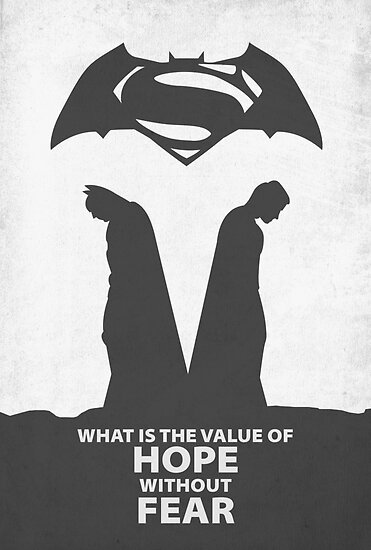 Batman vs. Superman by Hue Huegh