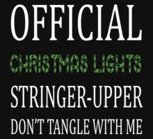 Christmas light stringer-upper by Lindsay Fulda
