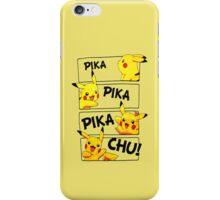PIKA PIKA PIKA CHU iPhone Case/Skin