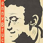 Lenny Bruce Vintage Poster by FinlayMcNevin