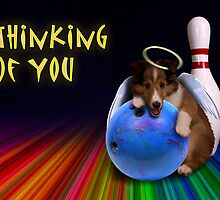 Thinking of You Angel Sheltie Puppy by jkartlife