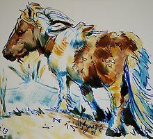 Dartmoor Pony by MikeJory