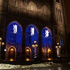 Christmas Angels - Notre-Dame de Montreal Basilica by Georgia Mizuleva