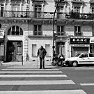 Crossing St Germaine - Paris, France by Norman Repacholi