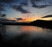 Late at Kilmakilloge Harbour by JurassicJohn