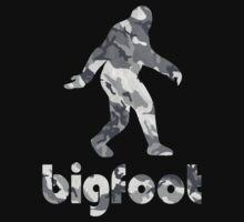Bigfoot Urban Snow Camouflage by chainsawgoblin