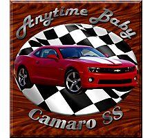 Chevy Camaro SS Anytime Baby Photographic Print