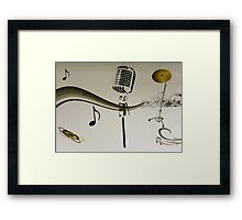 SOLD - SING ME AN OLD FASHIONED SONG! Framed Print