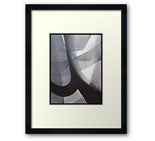Cobwebs and Faith Framed Print