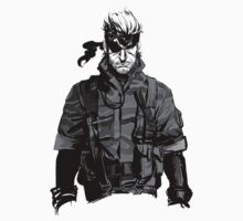 Metal Gear Solid Snake  by ikradi