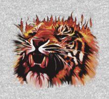 Fire Power Tiger Kids Clothes