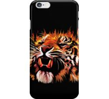 Fire Power Tiger iPhone Case/Skin