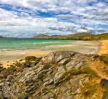 Harris: Seilebost Beach by Kasia-D