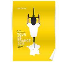 My Tour de France Minimal poster 2013 Poster