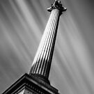 Nelsons Column London by Ian Hufton