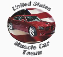 Dodge Charger SRT8 Muscle Car Team by hotcarshirts