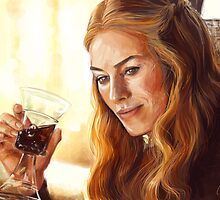 Game of Thrones - Cersei Lannister by cheezup