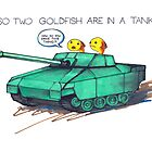 So two goldfish are in a tank... by cheezup