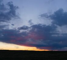 Sunset at the Pawnee Grassland in Spring VI by Camila Currea G.