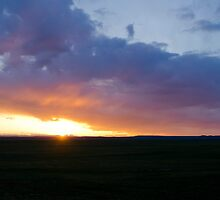 Sunset at the Pawnee Grassland in Spring XIV by Camila Currea G.