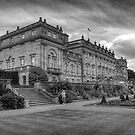 Harewood House #2 Mono by Colin Metcalf