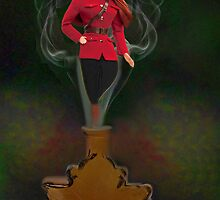 █ ♥ █ GENIE ~MAPLE LEAF ~ROYAL CANADIAN MOUNTED POLICE PICTURE/CARD █ ♥ █  by ✿✿ Bonita ✿✿ ђєℓℓσ