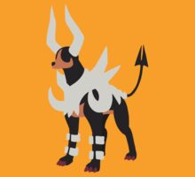 Mega Houndoom by ArcaneFire