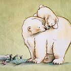 Mother and Cub 2 by Sarah  Mac