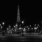 The Eiffel Tower in Paris by Olivier Sohn