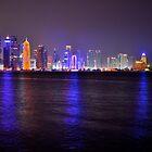 Doha Skyline  by emmawind
