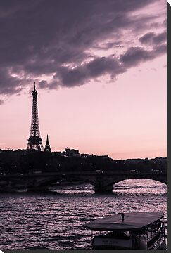 The Eiffel Tower from Pont Alexandre III (vertical) by Olivier Sohn