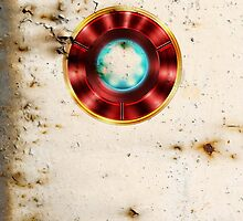 Rusty Iron Man by angeliana