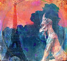 Gargoyle of Paris by ganechJoe