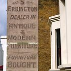 S Errington, Dulwich Road, London by Ghostsigns