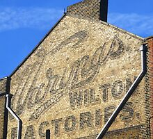 Wilton Factories, Shepperton Road, London by Ghostsigns