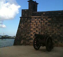 Lanzarote Castle Canon by Pontvert
