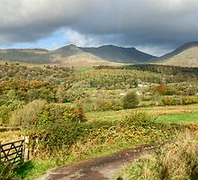 Coniston Fells Panorama by VoluntaryRanger