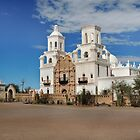 Mission San Xavier del Bac by Gordon  Beck