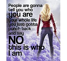 Emma Quote poster Photographic Print