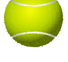Tennis Ball by kwg2200