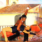 Two beautiful dancers in Cuba by vette