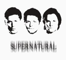 Supernatural heads  by Damn-Murphy