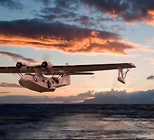 Catalina PBY  - Westering Home by Pat Speirs