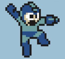 8-bit Mega Man by Andrew Wood