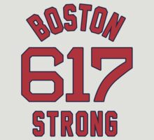 Boston 617 Strong Jersey Style Shirt by xnmex