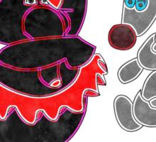 Heffalumps and Woozles Sticker