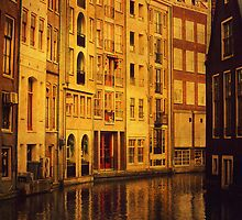 Golden Amsterdam by JennyRainbow