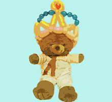 Crown and bear by Stefania Patella